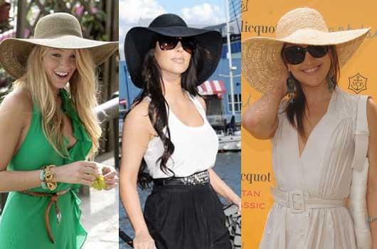 sombreros famosas