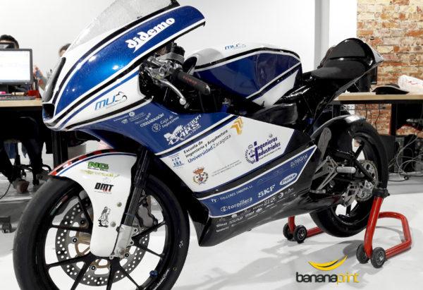 Moto oficial de Motostudent Unizar