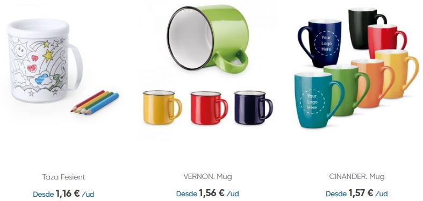 catalogo tazas tienda online
