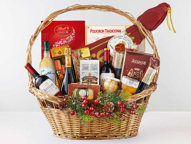 cesta productos gourmet