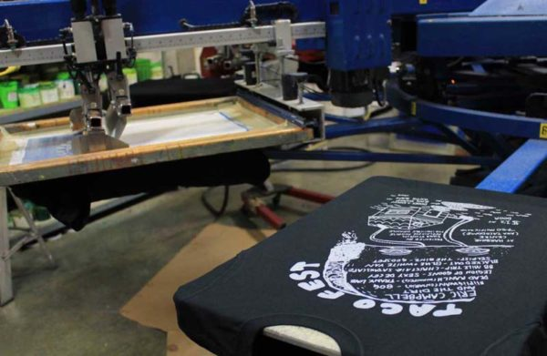 TacoFest-Tshirt-On-Screenprinting-Press-1