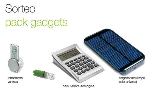 Sorteo lote gadgets