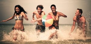 balon playa promocional