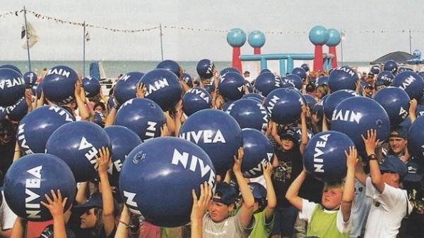 Evento de balones de Nivea