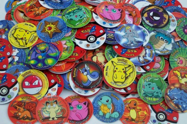 Tazos promocionales Pokémon