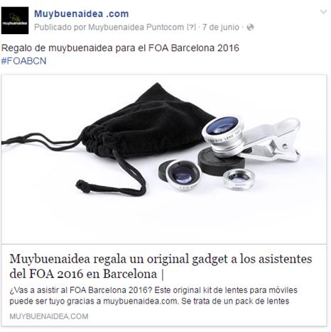 Anuncio Facebook Garrampa