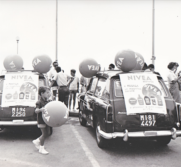 Caravanas publicitarias de Nivea
