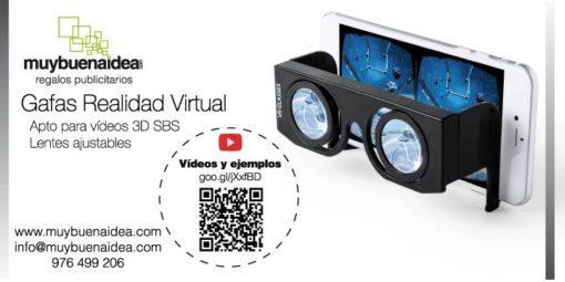 Flyer sorteo gafas de realidad virtual