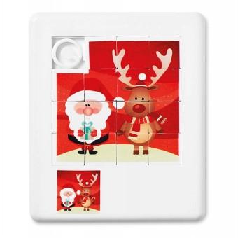 Puzzle con imagen estampada de navidad