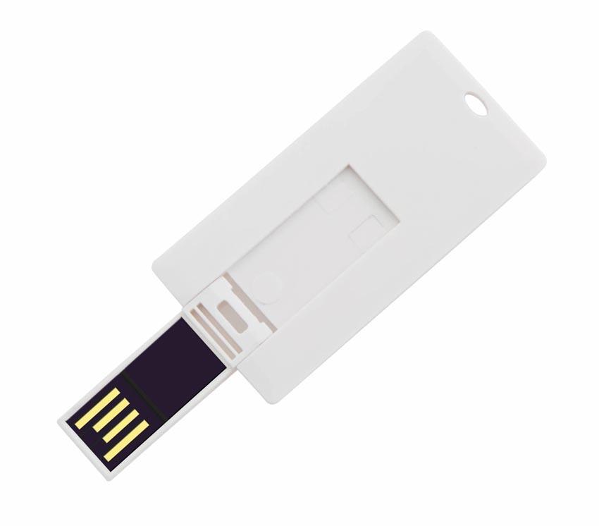 Tarjeta con USB especial para promociones