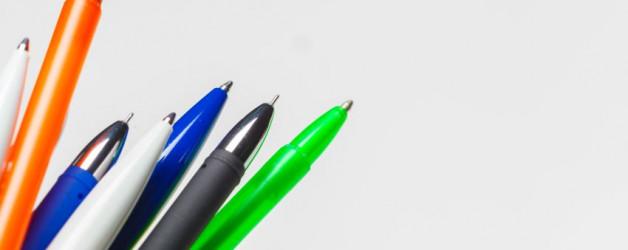 Bolígrafos personalizados, los reyes del merchandising