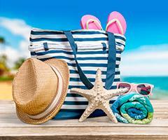 Artículos para la playa personalizados