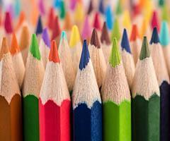 Lápices de colores personalizados