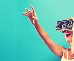 Gafas de realidad virtual personalizadas