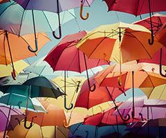 Paraguas baratos y originales