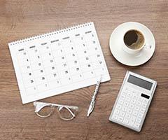 Calendarios corporativos publicitarios con logo para empresas