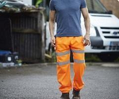 Pantalones reflectantes personalizados