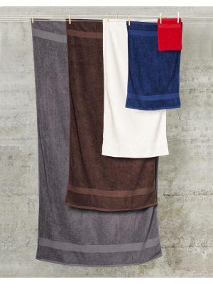 Toallas y albornoces towels by jassz de baño grande seine 100x180 cm con logo imagen 1