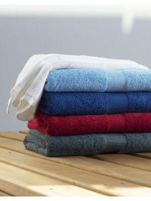 Toallas y albornoces towels by jassz para manos tiber 50x100 cm con logo vista 1