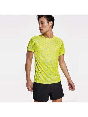 Camisetas técnicas roly assen de comp12 con publicidad vista 1