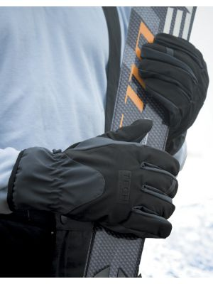 Guantes invierno result guantes softshell performance vista 1