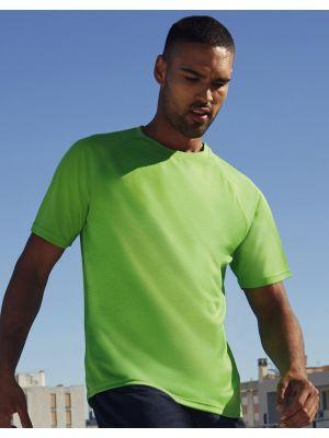 Camisetas técnicas fruit of the loom técnica performance hombre con logo vista 1