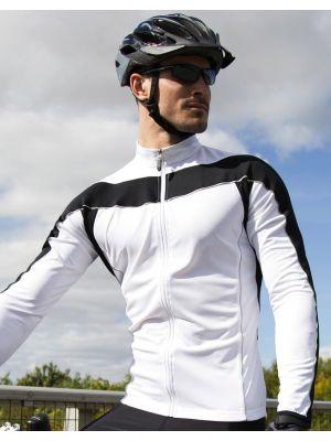 Equipaciones deportivas result top ciclismo manga larga hombre con publicidad imagen 3