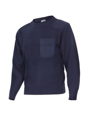 Ropa térmica para trabajar velilla jersey de punto de acrílico con logo vista 1