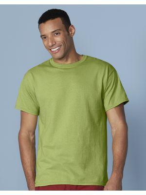 Camisetas manga corta gildan ultra con logo vista 3