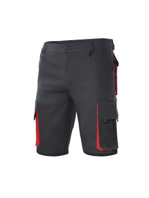 Pantalones de trabajo velilla bicolor multibolsillos de algodon vista 1