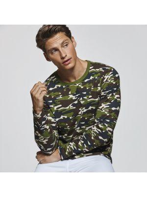 Camisetas manga corta roly molano de 100% algodón con logo vista 1