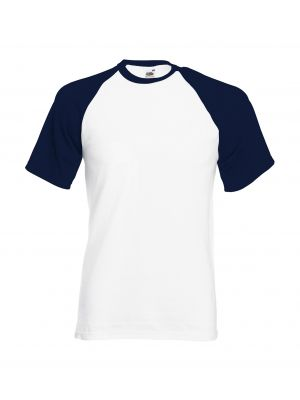 Camisetas manga corta fruit of the loom baseball con publicidad vista 1