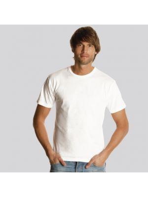 Camisetas manga corta keya mc130w de 100% algodón para publicidad vista 1