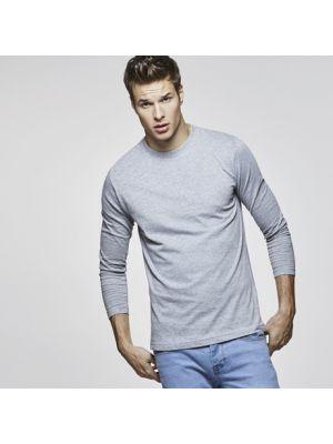 Camisetas manga larga roly extreme de 100% algodón con publicidad vista 1