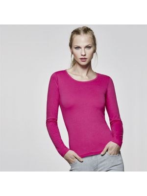 Camisetas manga larga roly extreme mujer de 100% algodón imagen 1