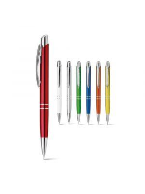 Lápices y portaminas marieta metalic pencil de metal con logo imagen 1