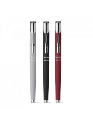 Bolígrafos roller beta roller de metal con publicidad vista 2