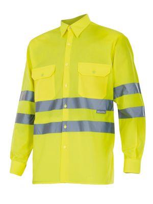 Camisas reflectantes velilla ml alta visibilidad de algodon vista 1