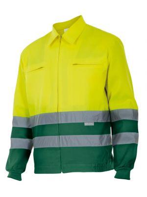Chaquetas y parkas reflectantes velilla bicolor alta visibilidad 153 de algodon vista 1