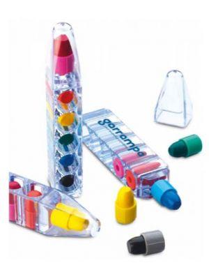 Pinturas colorear magic de plástico vista 1
