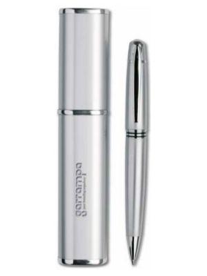 Bolígrafos de lujo oregon de metal con impresión vista 1