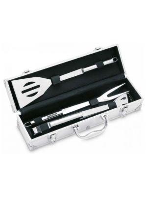 Barbacoa asador set de barbacoa asador. 3 pzas de metal para personalizar vista 1