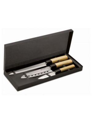 Cuchillos taki de metal vista 1