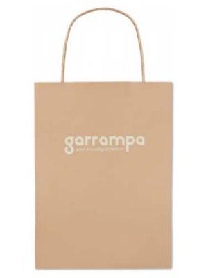 Bolsas de papel paper small de papel con publicidad vista 1