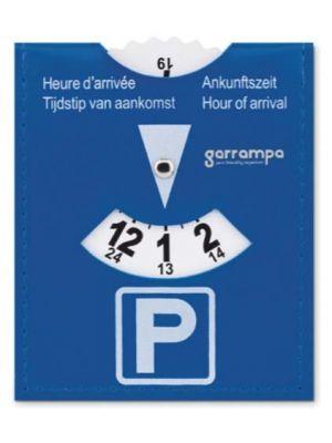 Automóvil parkcard tarjeta de aparcamiento de pvc de plástico con impresión vista 1