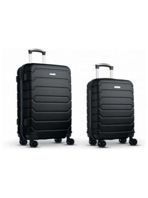 Maletas y trolleys minsk set de maletas 20 y 24 abs de varios materiales con logo vista 1