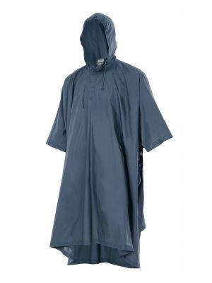 Chubasqueros y cortavientos velilla poncho de lluvia con capucha de poliéster con impresión vista 1