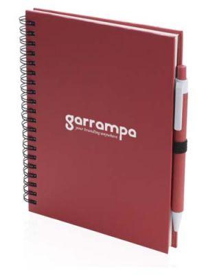 Cuadernos con anillas koguel de cartón ecológico vista 1