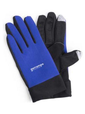 Complementos deportivos guante deportivo táctil vanzox de poliéster con publicidad vista 1