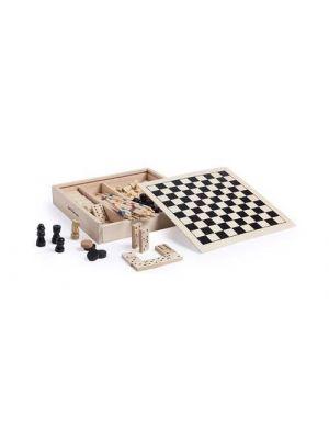Juguetes y puzzles set juegos xigral de madera para personalizar vista 1
